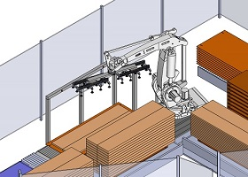 Robotisierte Station